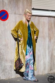 Paris Fashion Week SS 2016 Street Style: Hanne Gaby Odiele