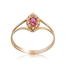 Anel de Formatura Ouro com Diamante 1206 - Rosana Joias