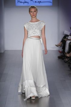 Wedding gown by Hayley Paige