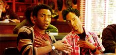 Just 'cause. It's Troy and Abed.