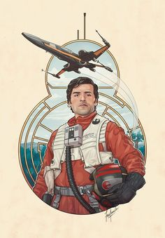 This month, Fan Art Friday is all about highlighting the new characters in Star Wars: The Force Awakens. Last week's gallery focused on Rey, and this time we're looking at the best pilot in the galaxy—Poe Dameron (Oscar Isaac). Poe kicked off the story when heBB-8, his astromech and his pal, dropped in on Lor San Tekka on Jakku to pick up the map to a long lost Luke Skywalker.Besides being dashing and one hell of a pilot, Poe is exceptionally friendly to those around him; he calls…