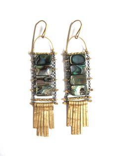 Demimonde Abalone Earrings - Demimonde