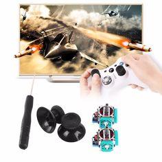 $1.96 (Buy here: https://alitems.com/g/1e8d114494ebda23ff8b16525dc3e8/?i=5&ulp=https%3A%2F%2Fwww.aliexpress.com%2Fitem%2F3D-Analog-Joystick-3-Pin-Sensor-Module-Potentiometer-with-Thumb-Sticks-for-Playstation-4-PS4-Controller%2F32739092922.html ) 3D Analog Joystick 3 Pin Sensor Module Potentiometer with Thumb Sticks for Playstation 4 PS4 Controller Repair for just $1.96