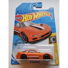 Hot Wheels Fast /& Furious '95 Mazda RX-7 Red