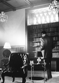 Yes, I would like to have Mycroft Holmes in my Diogenes Club library living room.  Constantly.