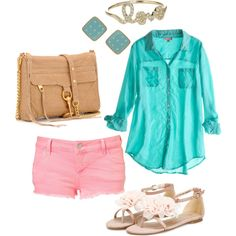 summer, created by jacie-gregory.polyvore.com