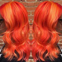 Fireball. Orange hair