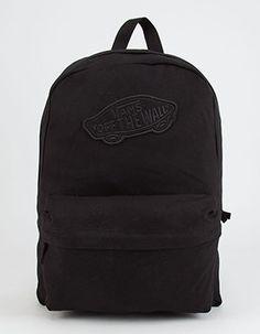 VANS Realm Backpack    Black