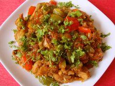 capsicum-chicken-curry