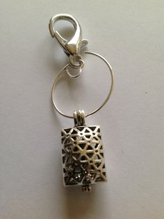 Very cool... I would use this for my car. or maybe my purse. Aromatherapy Diffuser Dangles by DesignedByDeeJewelry on Etsy