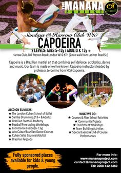 MANANA PROJECT IS BACK #rdacapoeirauk #rdauk #rdacapoeira #MBalu #ProfJera #CapoeiraLondon #CapoeiraUK #TheMananaProject #kiddiefit #CapoeiraFitness