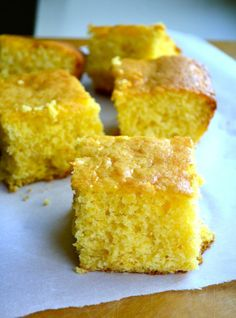 The End-All of Cornbreads... it's cornbread mixed with yellow cake mix. No one has to know your secret but... it's the BEST cornbread you will ever eat!! This is what they do at Disneyland..