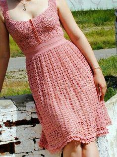 Vestido rosa jovencita