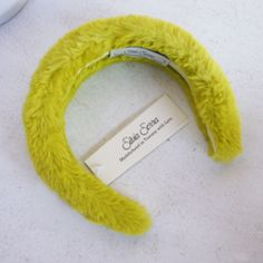 Shop-o-rama Eco-fur Headbdand (Lime)