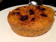 Paleo 1 minute Pumpkin Breakfast cake