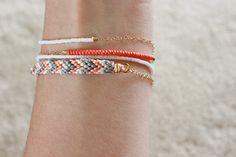 diy friendship bracelet inspiration