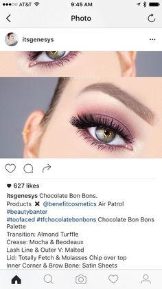 Too faced chocolate bon bons look