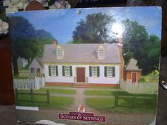 American-Girl-Scenes-and-Settings-FELICITY-MERRIMAN-Scenery-Book-Pretend-Play