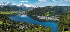 """Beautiful town at the lake, surrounded by mountains. Experience the """"Europasportregion"""" Zell am See located in the heart of the National Park """"Hohe Tauern"""".Zell am See – Nationalpark Hohe Tauern, largest National Park in the Alps Zell am See is alway Places To Travel, Places To Go, Zell Am See, Alpine Village, Ski Touring, Ski Holidays, Travel Tours, Wonderful Places, Amazing Places"""