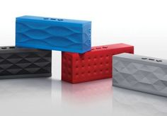 Jawbone Jambox - a portable, rechargeable Bluetooth speaker!