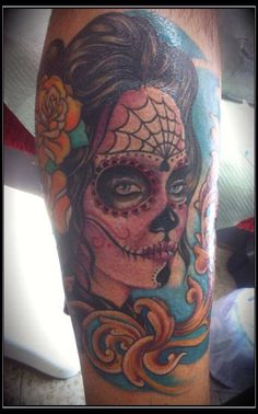 La catrina Remedios tattoo  Scanzorosciate italy