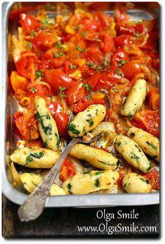 Kluski kukurydziane Healthy Cooking, Healthy Eating, Cooking Recipes, Healthy Recipes, Healthy Food, Good Food, Yummy Food, Food Design, Food Inspiration