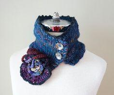 Victorian Steam Punk Cozy Collar Neck by ValerieBaberDesigns