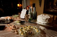 Deviled eggs anyone? #Speakeasy dinner party. Menu by DPC winner Angela.