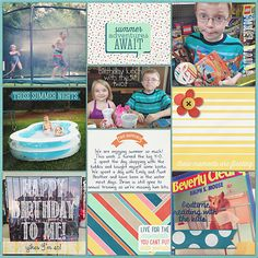 Pocket Life: June Collection by Traci Reed 365Unscripted: Slip Ins 2 by Traci Reed Date Card by Amy Martin Font by Darcy Baldwin