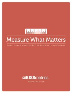 Measure what matters - PDF