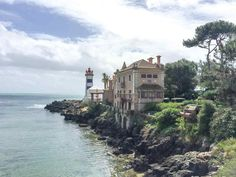 A small town in Portugal with lighthouses and castles - why you need to visit Cascais!