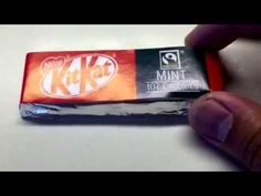 NESTLE MINT KIT KAT MADE IN ENGLAND UK ARE AVAILABLE AT WORLD MARKET WOO...