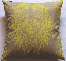 Publisher Textiles - Hand screened cushion covers