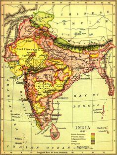 Historical, colonized India