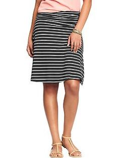 Stitch Fix: Jersey fabric skirt. I have this in solid pink and LOVE IT! I would love to find more colors
