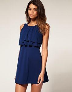 Formal Navy Blue Dress