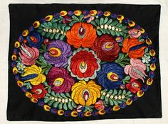 Traditional Hungarian Silk Matyo Floral от TheMightyCat на Etsy
