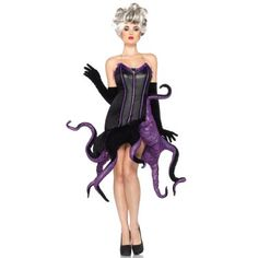 Disney Ursula Adult Costume  This dress is fantastic. I wish I could wear it all the time.   #hallowhenever