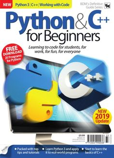 computers technology - Python & C++ for Beginners Vol 33 Computer Programming Languages, Computer Coding, Learn Programming, Python Programming, Computer Technology, Computer Science, Start Coding, Coding For Kids, Learn Python 3