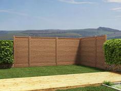 Keep your pets in and neighbours out by framing your garden with our Pressure Treated fence. At 1.83m tall; the panel provides security, shade and privacy for when you simply want to relax undisturbed in your garden. The whole fence, posts included, is Pressure Treated against rot and fungal decay – a must for a product exposed to all the elements the British Summer throws at us.