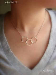 Necklace with Cercles