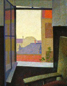 Arthur Segal Vue de la fenêtre, 1930