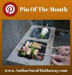 The Changing Earth Podcast's Pin of the Month. A cinder block fire! Great for a party or survival needs! #survival