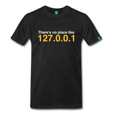 Coder No Place Like Localhost (2c, NEU) T-Shirt | Spreadshirt | ID: 11246871