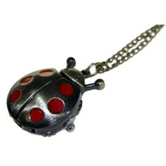 Steampunk Pendant - The Magic Ladybug