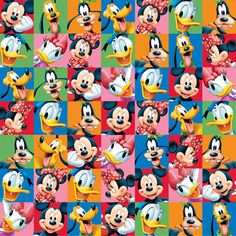 Mickey and Friends - 12x12 Scrapbooking Paper
