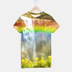 Rainbow Across The Waterfalls
