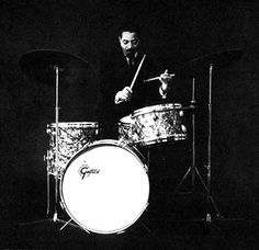 Jimmy Cobb. That's his drum kit, too. No nonsense.