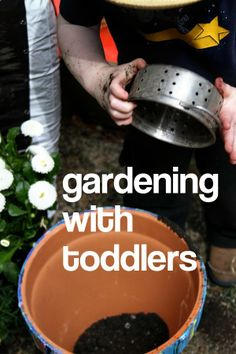 Tips for Gardening with Toddlers!
