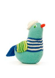 every baby needs adorable rattles. And by need, I mean every mommy (or wanna-be-mommy) that is overtaken by consumerism, wants them!